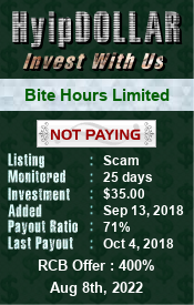 Monitored by hyipdollar.com
